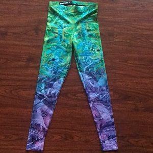 BLACKMILK Leggings Ocean Print new with tags